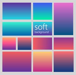soft diferent gradient background