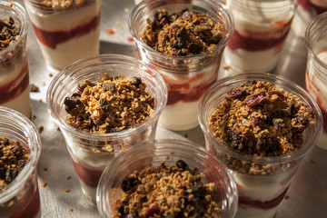 Fruit Parfait array