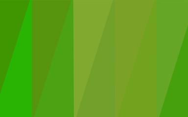 Light Green, Yellow vector polygonal background.