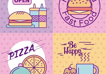 4 Fast Food Layouts