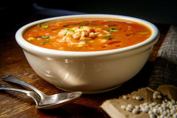 Healthy Farro Vegetable Soup