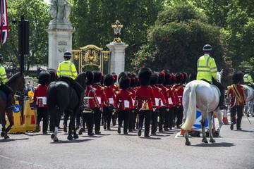 Beefeater beim Buckingham palast