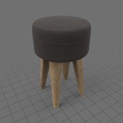Modern footstool