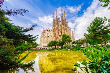 Tuinposter Barcelona La Sagrada Familia
