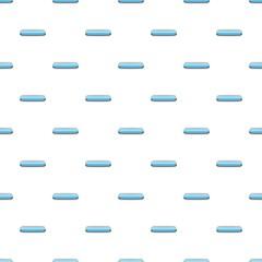 Light blue rectangular button pattern seamless repeat in cartoon style vector illustration