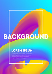 Modern abstract colorful geometric background. Shapes with trendy gradients composition for your design.