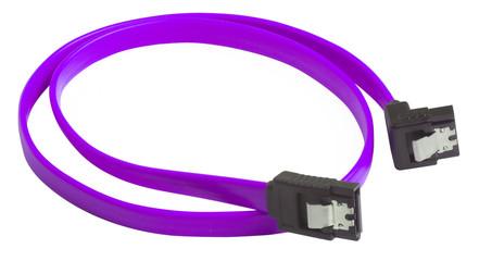 Serial ATA, sata cable purple