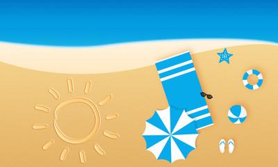 Urlaub Strand Sonne Meer