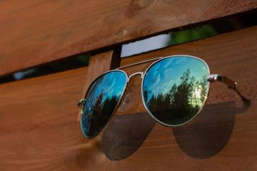 brown glasses leisure