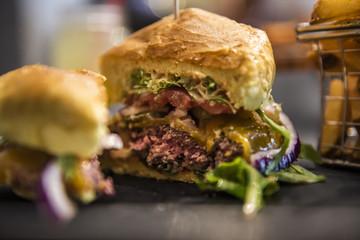Delicious Fresh cheeseburger
