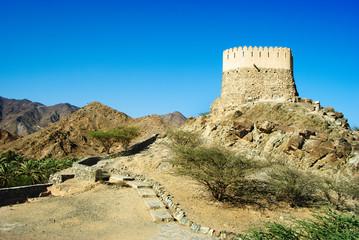 Ancient fort in al badiyah