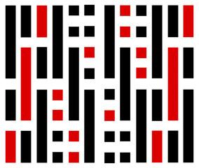Vertical Linear Sequence Pattern Design
