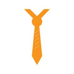 Isolated tie icon