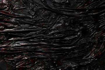 Black lava texture background