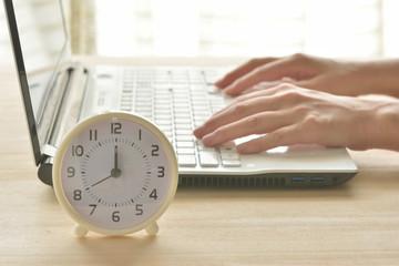 時計 パソコン