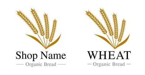 麦のロゴ|set