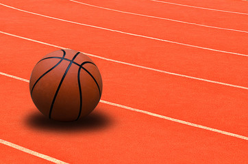Basketball is placed on the stadium