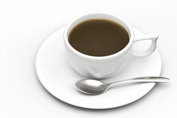 コーヒーのCG