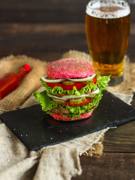 burger color - sandwich is a lot of layers. food background