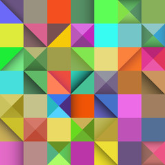 Rectangle seamless pattern, vector abstract background