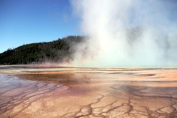 Hydrothermal activity – Yellowstone NP – USA
