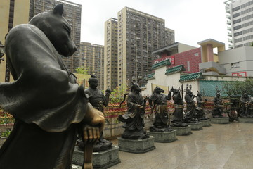 Temple Taoïste à Hong Kong