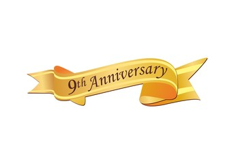 9th Anniversary Logo