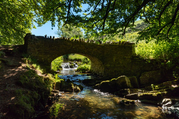 Robber's Bridge, Somerset, England