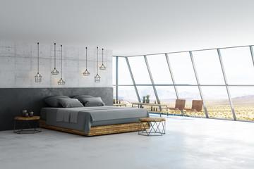 Wall Mural - minimalistic loft room