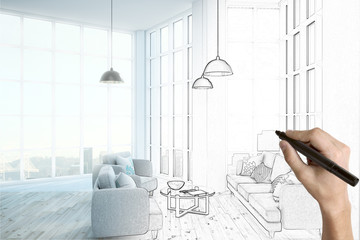 room interior design project