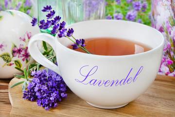 Wellness  -  Lavendel  -  Tee