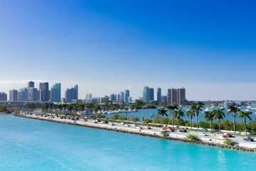Miami, MacArthur Causeway, USA, Florida