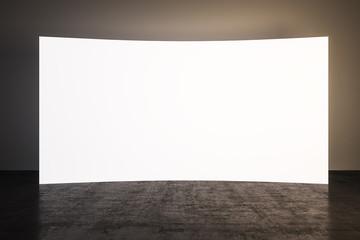 blank screen board