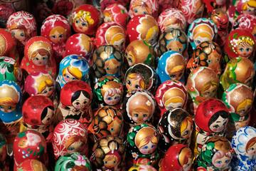 Russian souvenir dolls, Matryoshka doll collection -