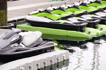 jet ski jetski in marina port to rent