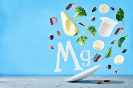 Flying foods rich in magnesium