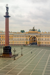 Palace Square from the Hermitage