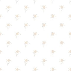 White drops of milk pattern seamless repeat in cartoon style vector illustration