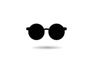 Glasses symbol illustration design