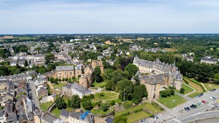 Le château de Châteaubriant, en Loire Atlantique