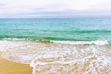 sea surf on the beach