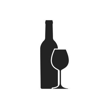 Wine. Vector.