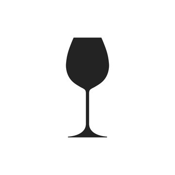 Wine icon. Vector.
