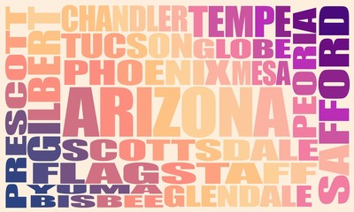 Image relative to usa travel. Arizona state cities list