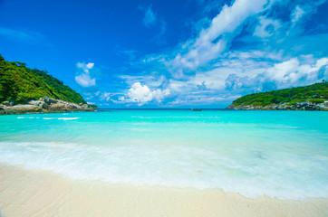 Beautiful sea beach and nice weather, Phuket, Thailand