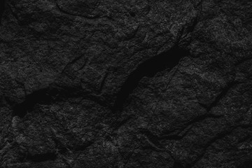 black background floor texture interior and exterior stone wall. Blank for design