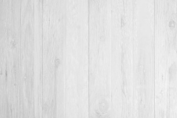 White wooden planed timber flooring, wall, background surface blank for design your product