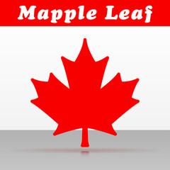 mapple leaf vector icon design