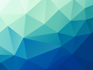 abstract green blue pastel low poly vector background