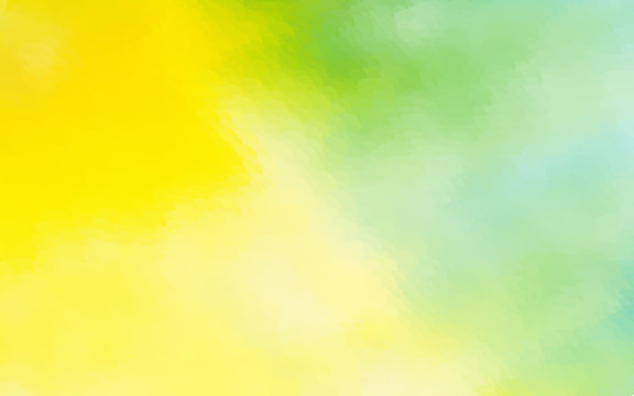 abstract yellow green watercolor background dotted graphic design